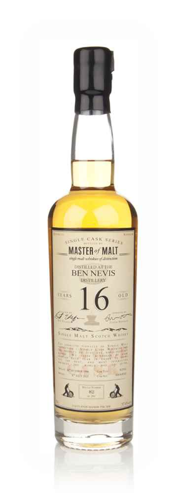 Ben Nevis 16 Year Old 1996 - Single Cask (Master of Malt)