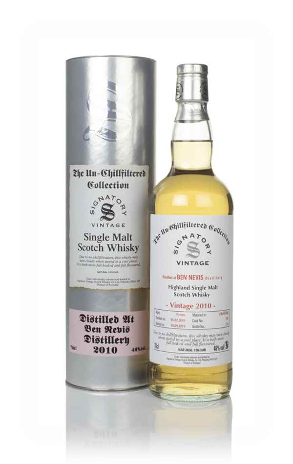 Ben Nevis 9 Year Old 2010 (cask 128) - Un-Chillfiltered Collection (Signatory)