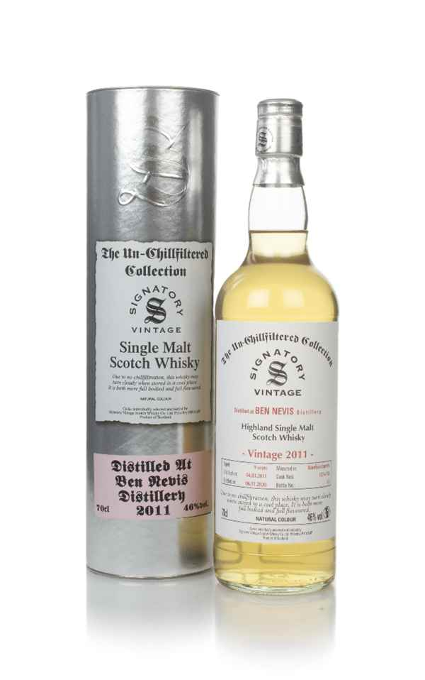 Ben Nevis 9 Year Old 2011 (casks 157 & 158) - Un-Chillfiltered Collection (Signatory)