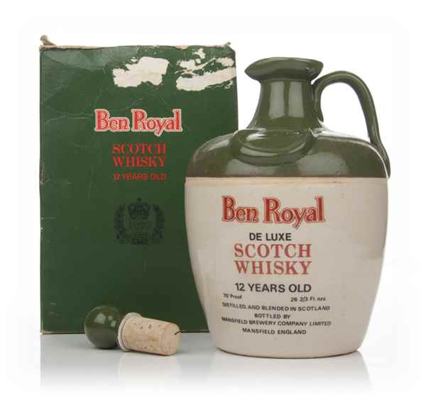 Ben Royal 12 Year Old De Luxe Scotch Whisky - 1977