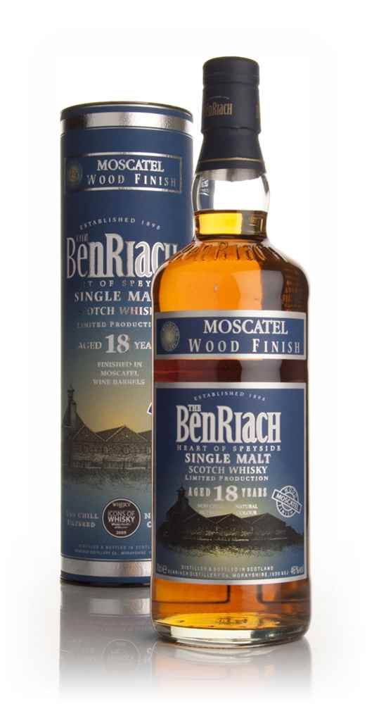 BenRiach 18 Year Old Moscatel Finish