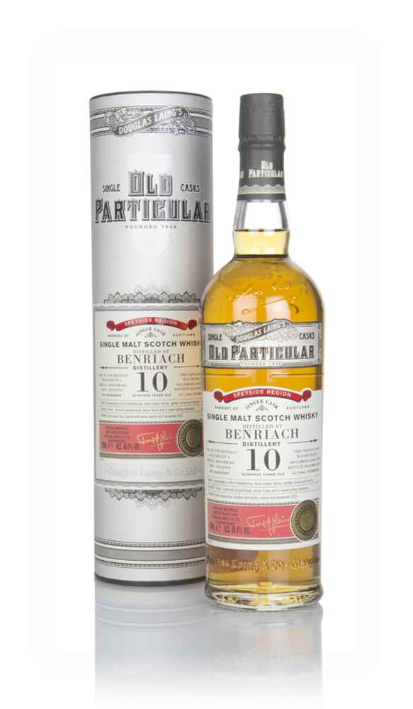 BenRiach 10 Year Old 2008 (cask 12939) - Old Particular (Douglas Laing)