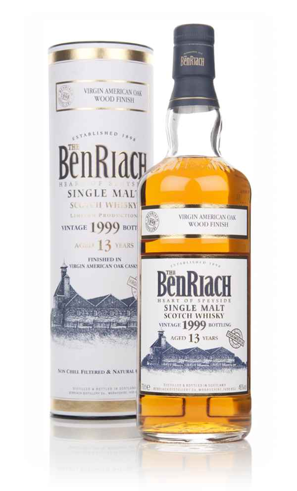 BenRiach 13 Year Old 1999 Virgin American Oak Finish