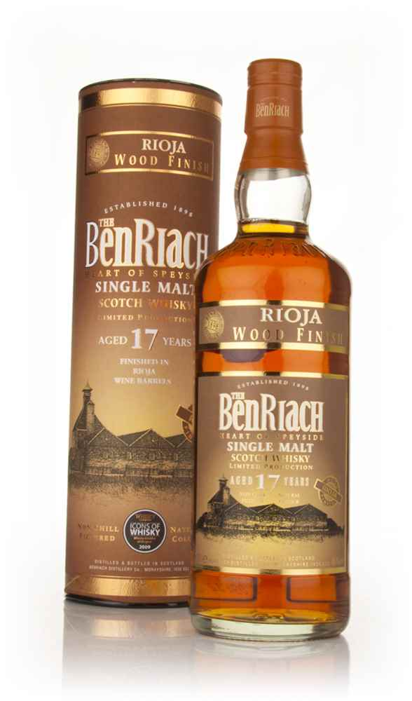 BenRiach 17 Year Old Rioja Wood Finish