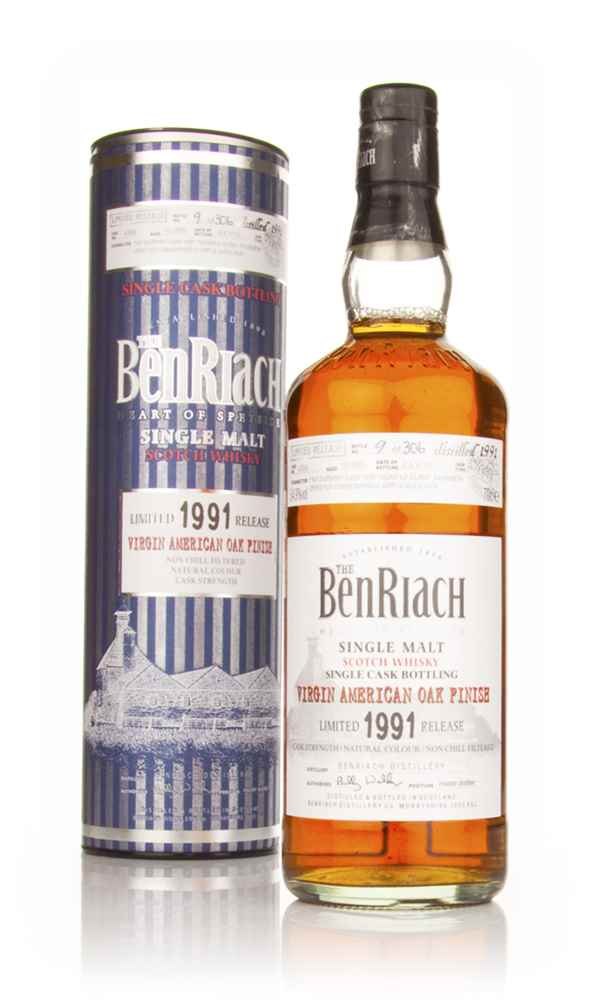 BenRiach 19 Year Old 1991 Virgin American Oak Finish