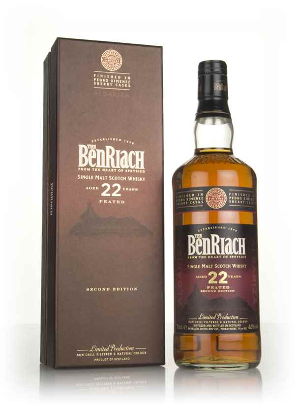 BenRiach 22 Year Old Albariza - Peated