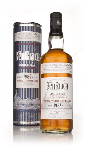 BenRiach 25 Year Old 1984 Peated Tawny Port Cask Finish