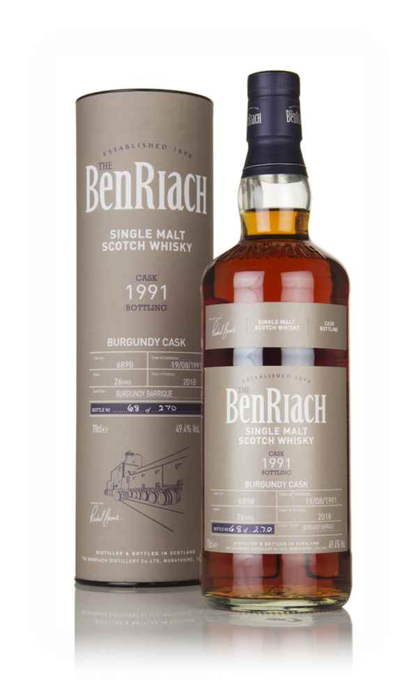 BenRiach 26 Year Old 1991 (cask 6898)
