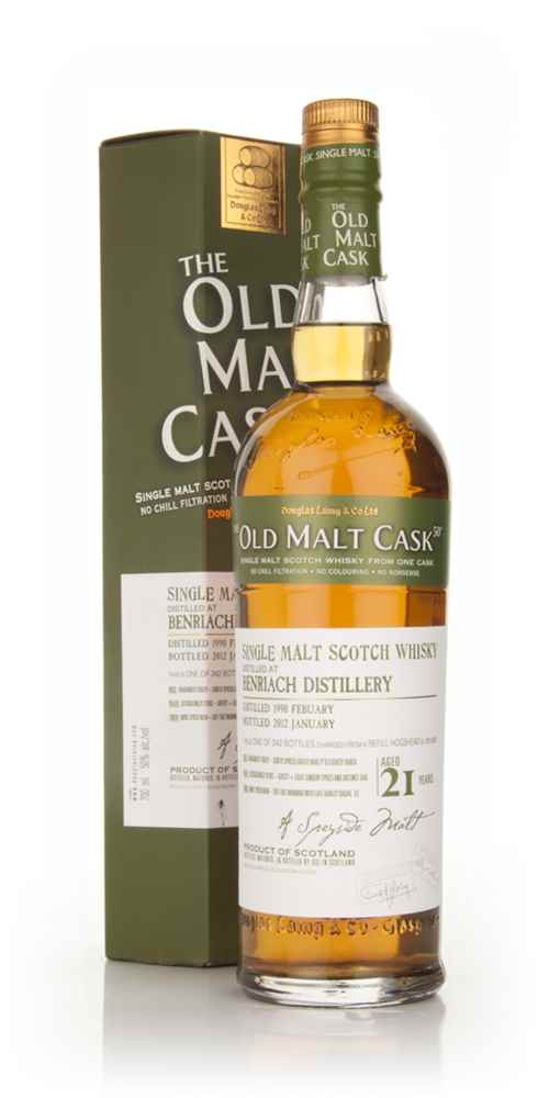 BenRiach 21 Year Old 1990 - Old Malt Cask (Douglas Laing)