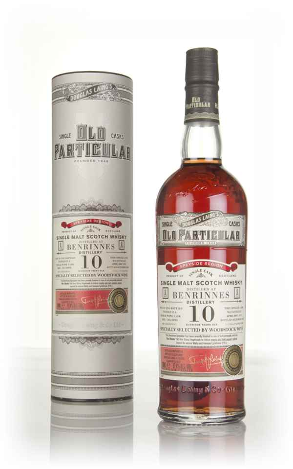 Benrinnes 10 Year Old 2007 (cask 12093) - Old Particular (Douglas Laing)