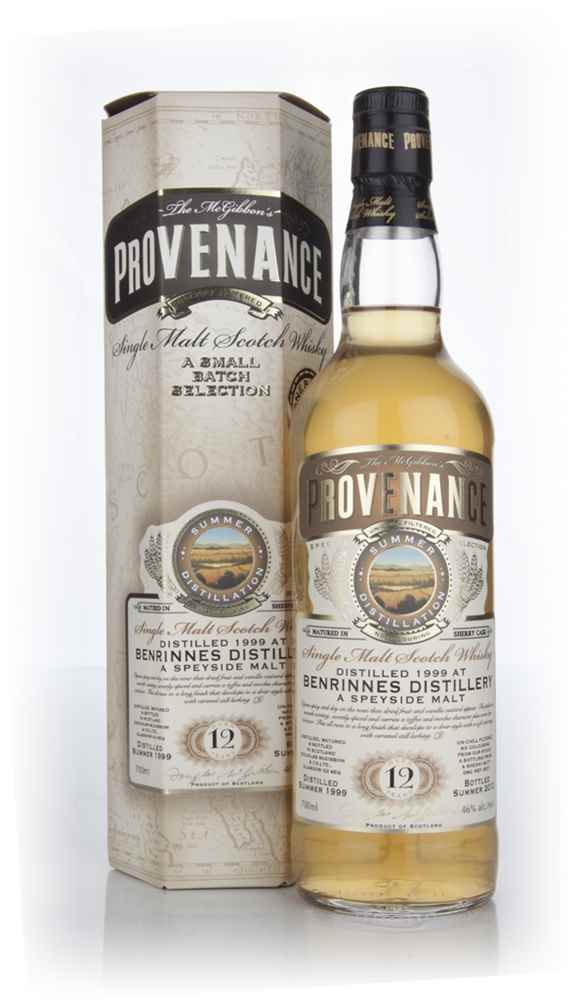Benrinnes 12 Year Old 1999 (cask 8571) - Provenance (Douglas Laing)