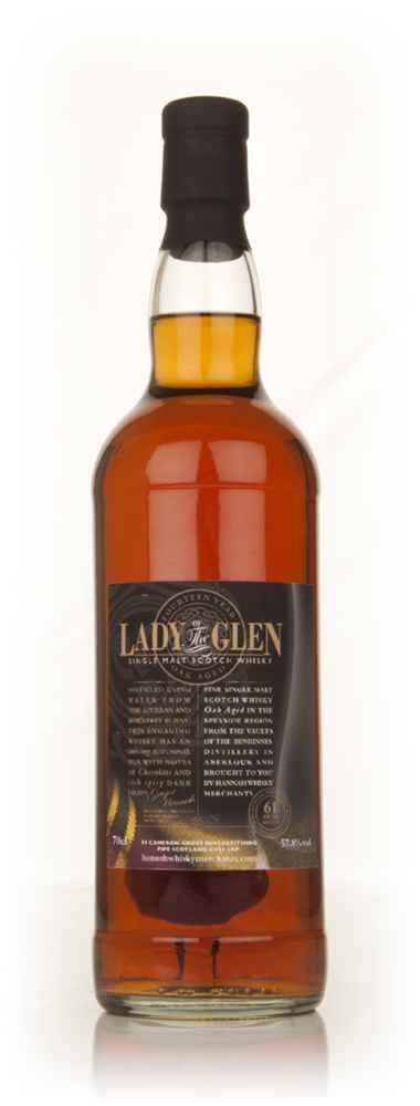 Benrinnes 14 Year Old - Lady Of The Glen (Hannah Whisky Merchants)