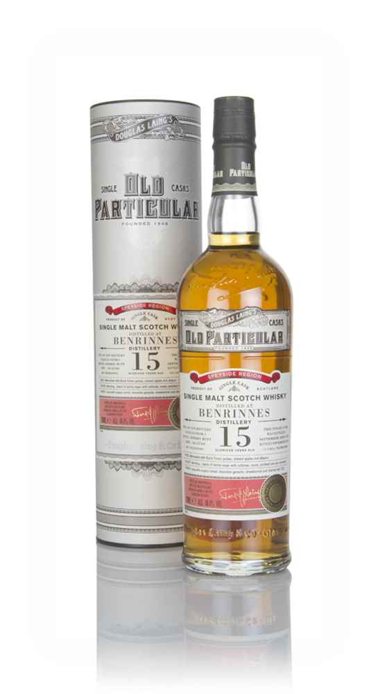 Benrinnes 15 Year Old 2003 (cask 12760) - Old Particular (Douglas Laing)