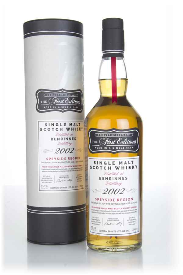 Benrinnes 16 Year Old 2002 (cask 15438) - The First Editions (Hunter Laing)