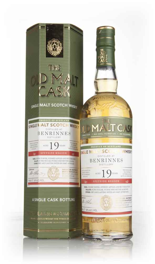 Benrinnes 19 Year Old 1997 (cask 13272) - Old Malt Cask (Hunter Laing)