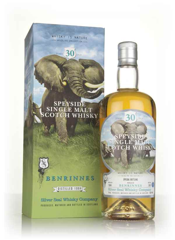 Benrinnes 30 Year Old 1984 (cask 2268) - Whisky is Nature (Silver Seal)