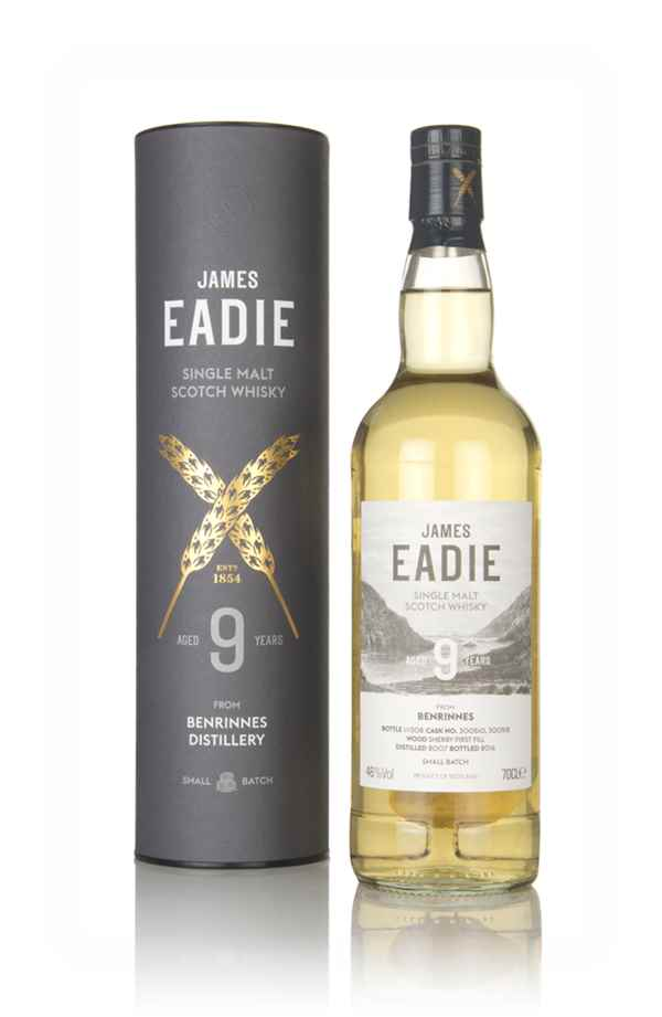 Benrinnes 9 Year Old 2007 (casks 300510 & 300512) - Small Batch (James Eadie)