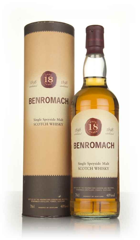 Benromach 18 Year Old (Old Bottling)