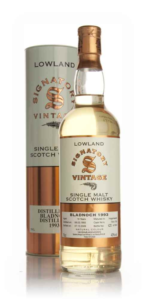 Bladnoch 16 Year Old 1993 (Signatory)