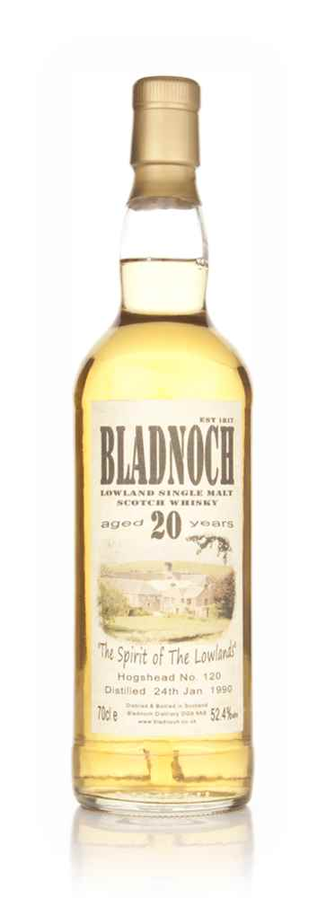 Bladnoch 20 Year Old 1990 (cask 120)