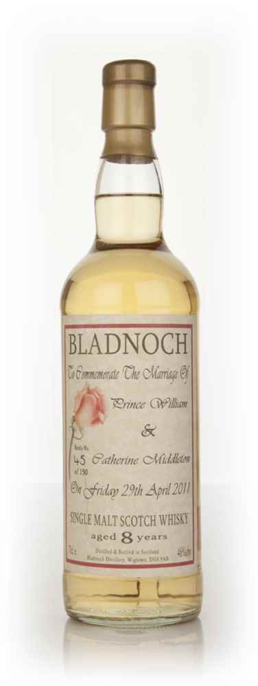 Bladnoch 8 Year Old Royal Wedding