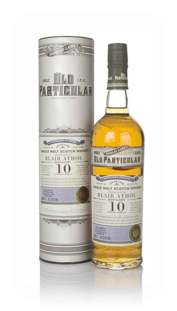 Blair Athol 10 Year Old 2009 (cask 13506) - Old Particular (Douglas Laing)