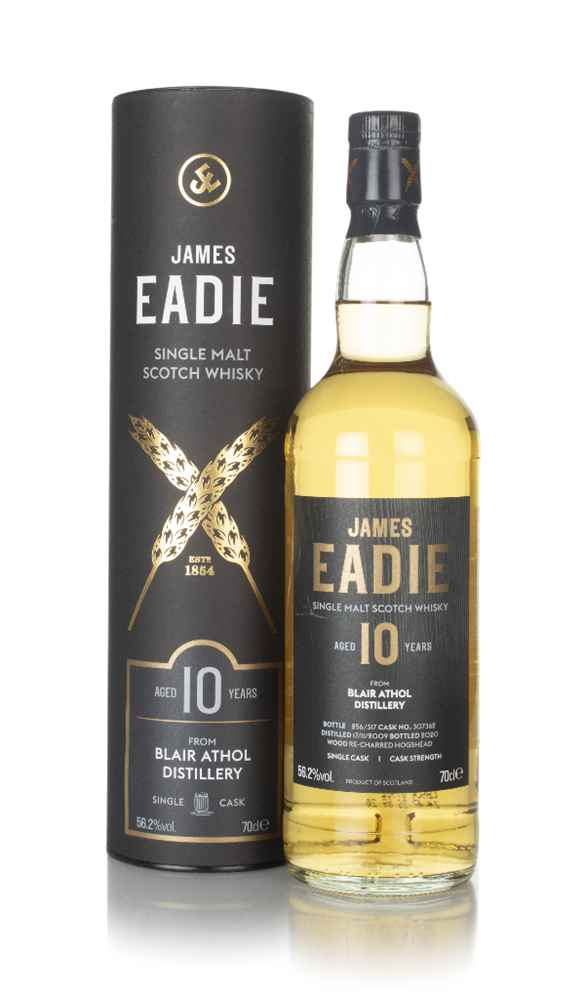 Blair Athol 10 Year Old 2009 (cask 307362) - James Eadie