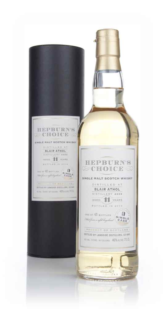 Blair Athol 11 Year Old 2002 - Hepburn's Choice (Langside)