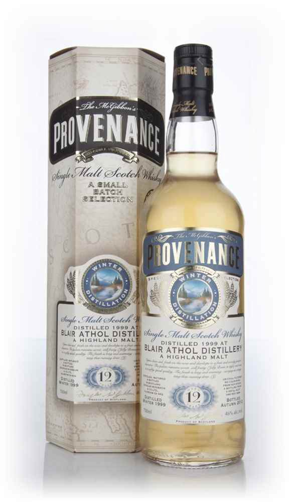 Blair Athol 12 Year Old 1999 (cask 9264) - Provenance (Douglas Laing)