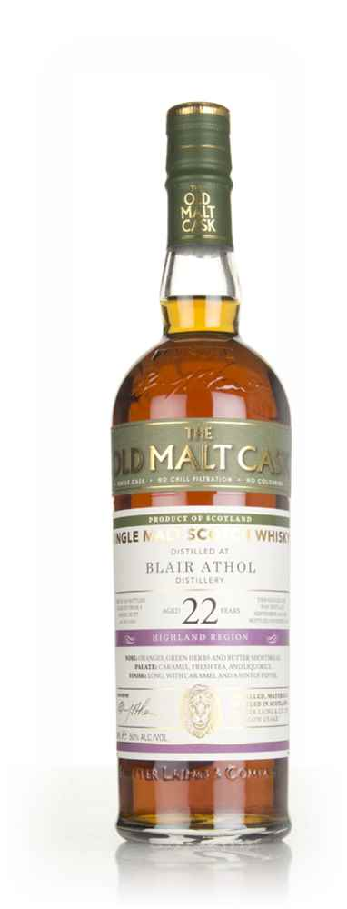 Blair Athol 22 Year Old 1995 (cask 14455) - Old Malt Cask (Hunter Laing)