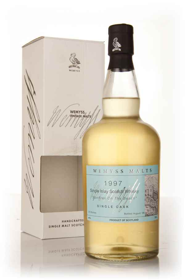 Bonfires on the Beach 1997 (Wemyss Malts)