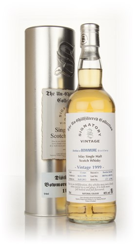 Bowmore 12 Year Old 1999 - Un-Chillfiltered (Signatory)