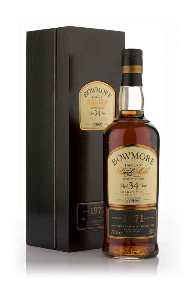 Bowmore 34 Year Old 1971