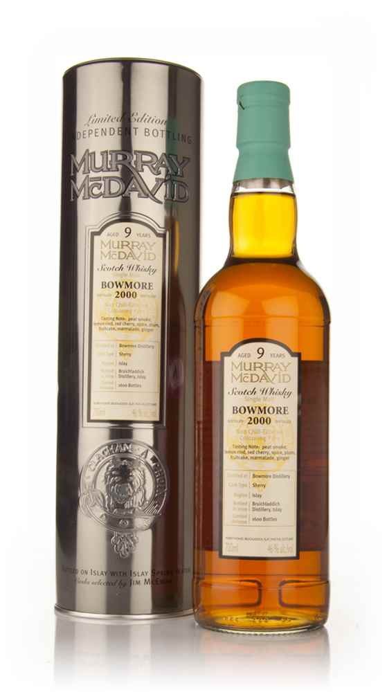 Bowmore 9 Year Old 2000 (Murray McDavid)