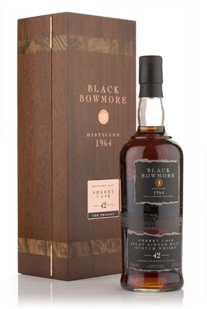 Bowmore Black Bowmore 42 Year Old 1964
