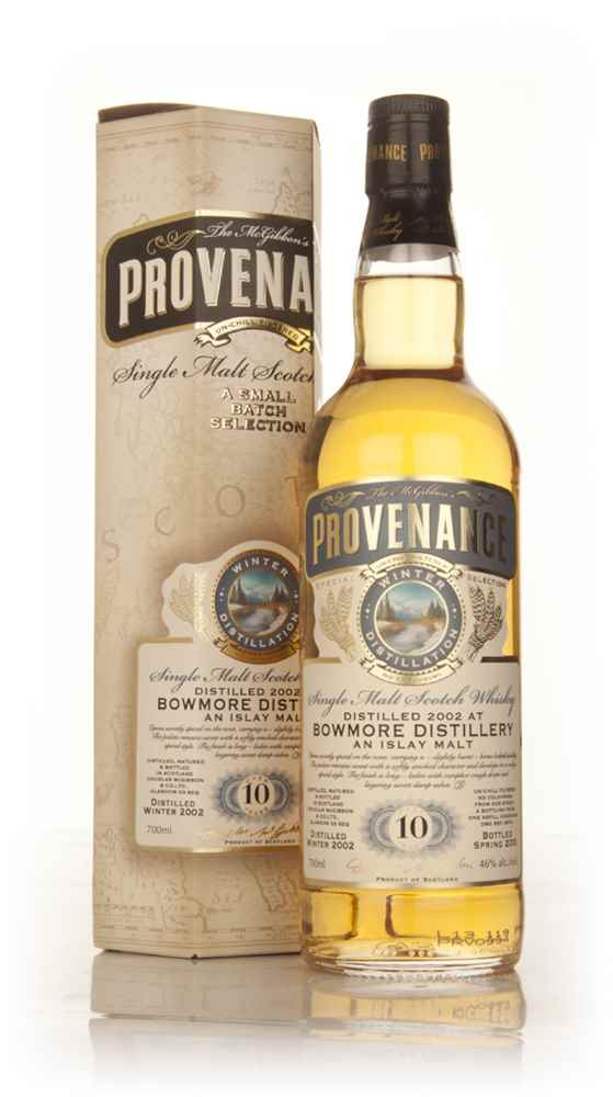 Bowmore 10 Year Old 2002 (cask 9574) - Provenance (Douglas Laing)