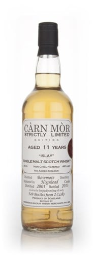 Bowmore 11 Year Old 2001 - Strictly Limited (Càrn Mòr)