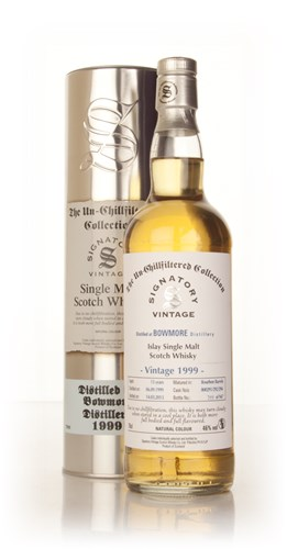 Bowmore 13 Year Old 1999 (casks 800291/292/294) - Un-Chillfiltered (Signatory)