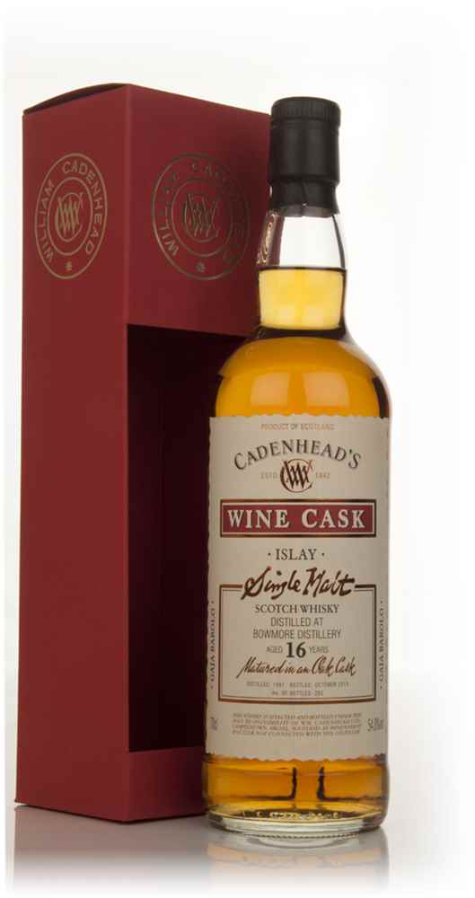 Bowmore 16 Year Old 1997 - Wine Cask (WM Cadenhead)