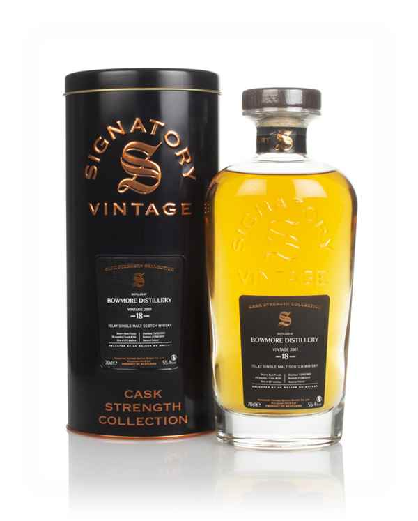 Bowmore 18 Year Old 2001 (cask 106) - Cask Strength Collection (Signatory)