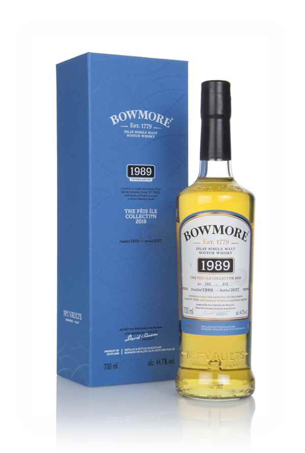 Bowmore 1989 (bottled 2017) - Fèis Ìle 2018