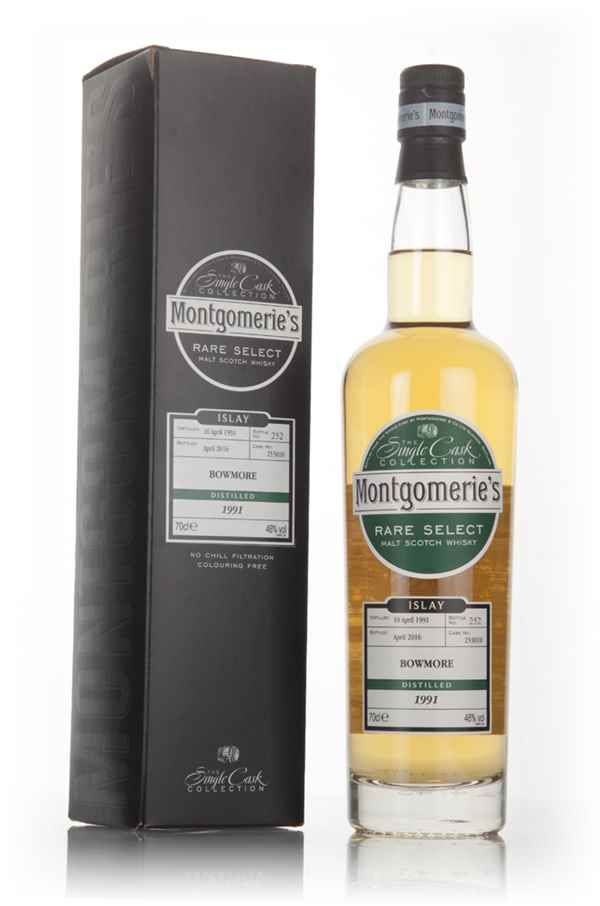 Bowmore 1991 (bottled 2016) (cask 253010) - Rare Select (Montgomerie's)