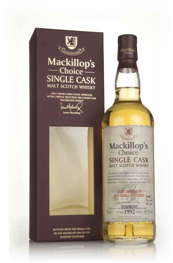 Bowmore 1992 (bottled 2017) - Mackillop's Choice
