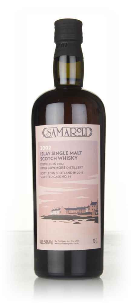 Bowmore 2002 (bottled 2017) (cask 14) - Samaroli