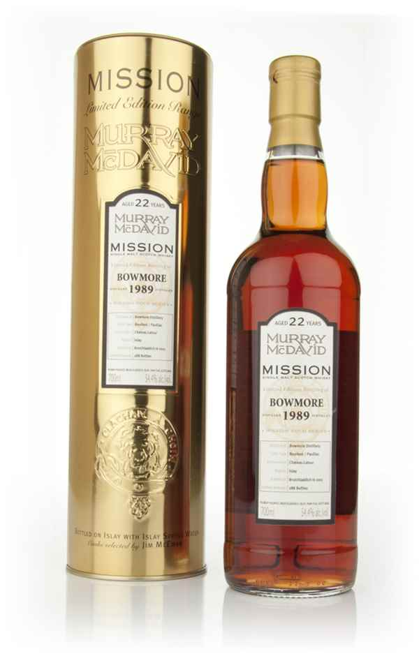 Bowmore 22 Year Old 1989 - Mission (Murray McDavid)