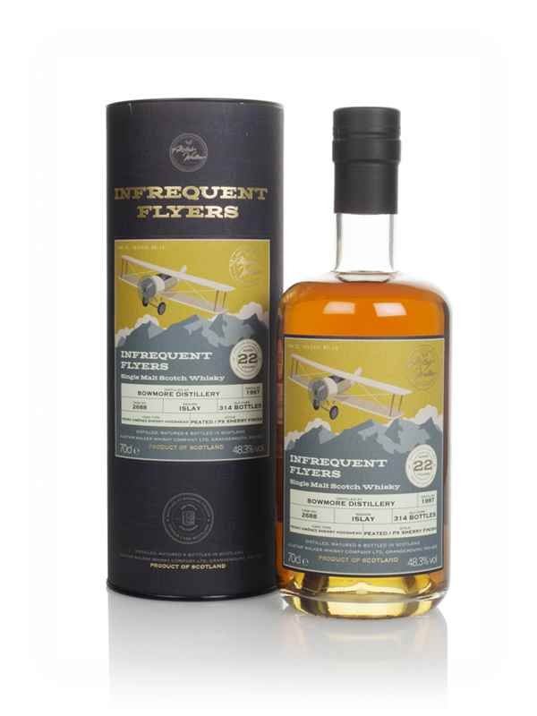 Bowmore 22 Year Old 1997 (cask 2688) - Infrequent Flyers (Alistair Walker)