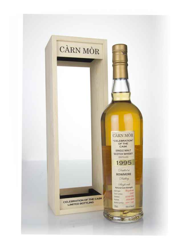 Bowmore 24 Year Old 1995 (cask 2527) - Celebration of the Cask (Càrn Mòr)