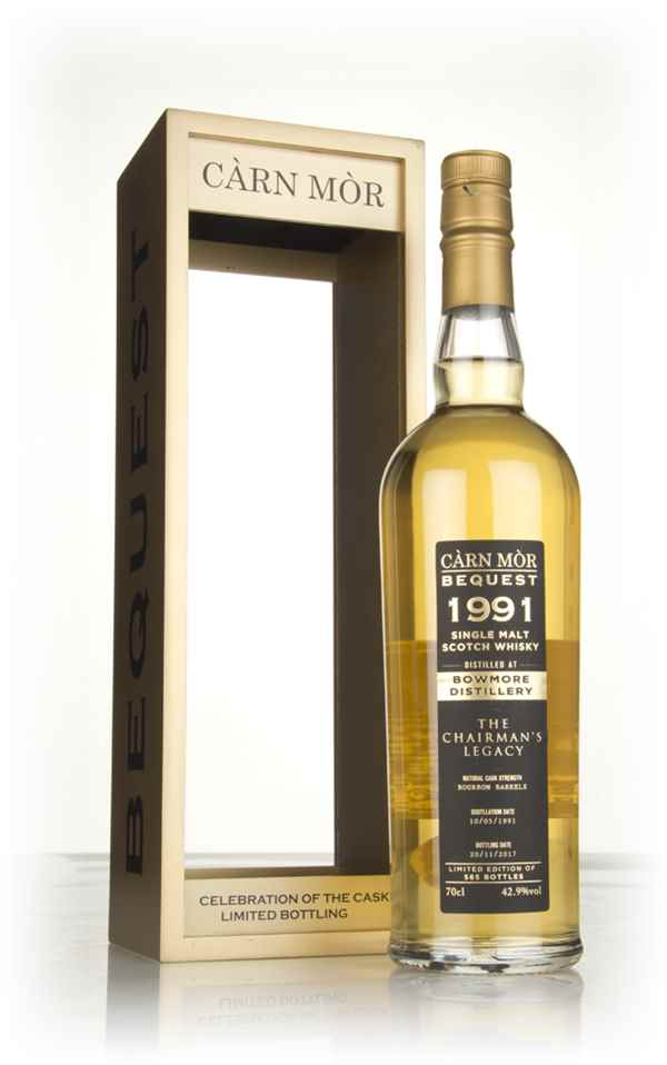 Bowmore 26 Year Old 1991 - The Chairman's Legacy (Càrn Mòr Bequest)