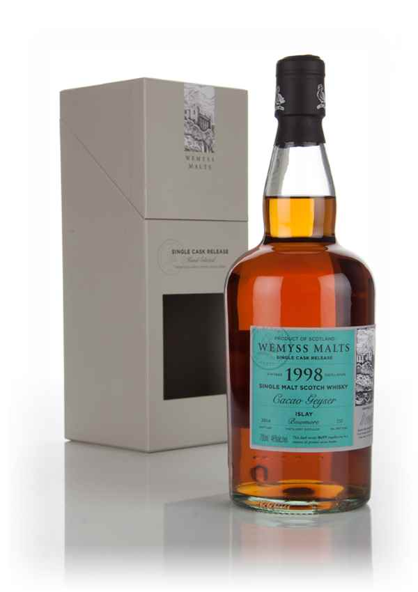 Cacao Geyser 1998 (bottled 2014) - Wemyss Malts (Bowmore)