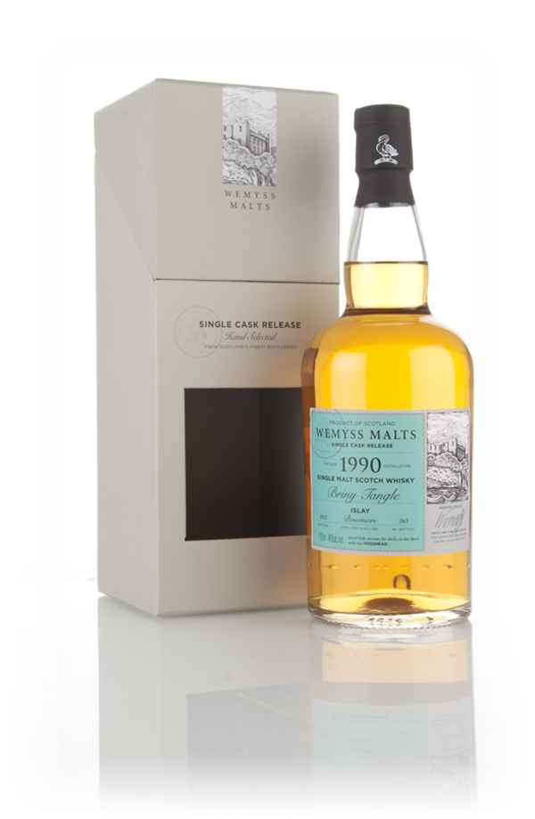 Briny Tangle 1990 (bottled 2015) - Wemyss Malts (Bowmore)